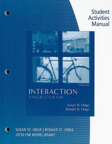 Interaction Langue Et Culture 8th 2011 edition cover