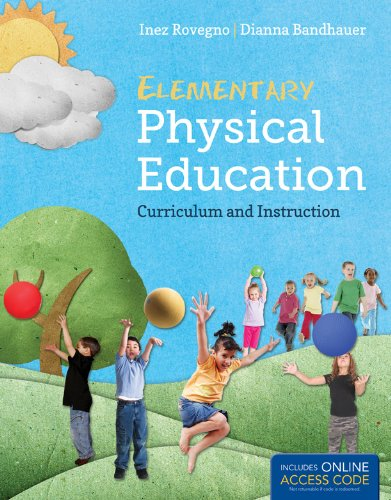 Elementary Physical Education   2013 edition cover