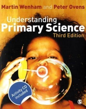Understanding Primary Science  3rd 2010 edition cover