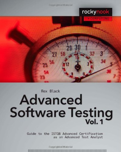 Advanced Software Testing Guide to the ISTQB Advanced Certification as an Advanced Test Analyst  2008 edition cover