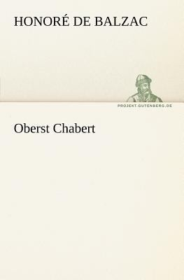 Oberst Chabert  N/A 9783842403192 Front Cover