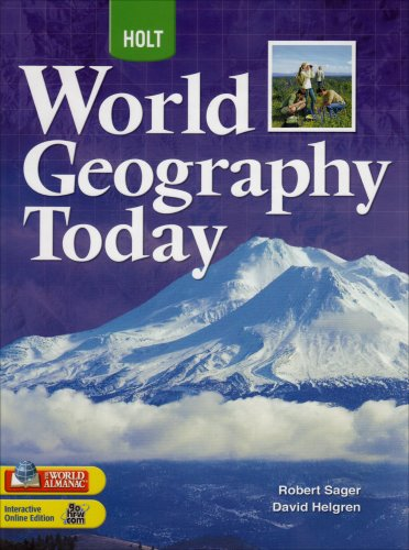 Holt World Geography Today Student Edition Grades 9-12 2008 1st 2007 9780030934193 Front Cover