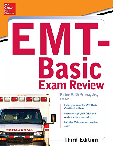 Mcgraw-hill Education's Emt Basic Exam Review:   2015 9780071847193 Front Cover