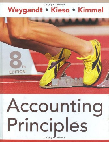 Accounting Principles  8th 2008 (Revised) edition cover