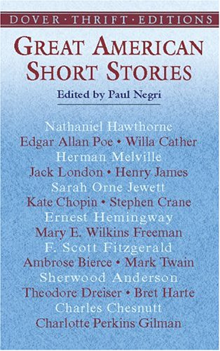 Great American Short Stories   2002 edition cover