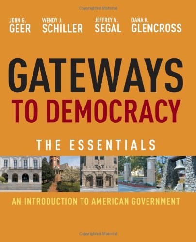Gateways to Democracy An Introduction to American Government, Essentials  2012 edition cover
