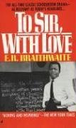 To Sir, with Love  N/A edition cover