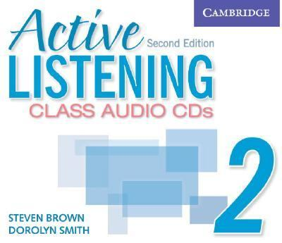 Active Listening 2 Class Audio CDs 2nd (Revised) 9780521678193 Front Cover