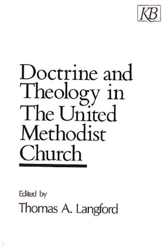 Doctrine and Theology in the United Methodist Church  N/A edition cover