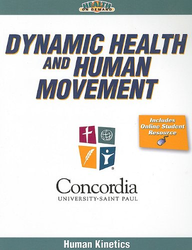 Dynamic Health and Human Movement   2009 edition cover