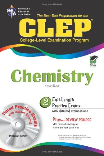 CLEP Chemistry  N/A 9780738603193 Front Cover