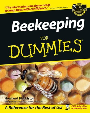 Beekeeping for Dummies   2002 edition cover