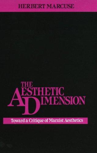 Aesthetic Dimension : Toward a Critique of Marxist Aesthetics  1979 (Reprint) edition cover