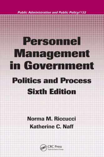 Personnel Management in Government Politics and Process 6th 2007 (Revised) edition cover