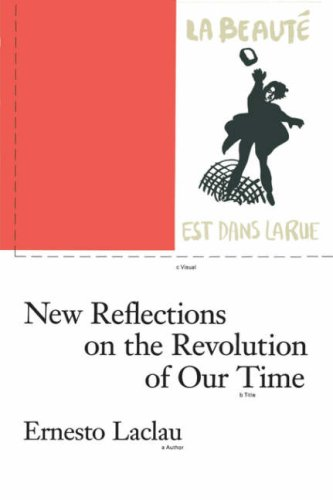 New Reflections on the Revolution of Our Time   1990 edition cover