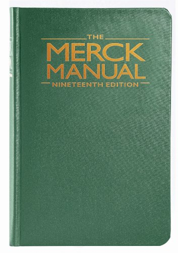 Merck Manual of Diagnosis and Therapy  19th 2011 edition cover