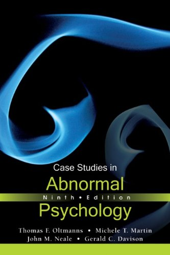 Case Studies in Abnormal Psychology  9th 2012 edition cover