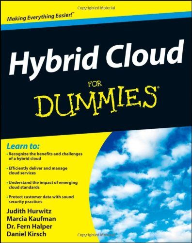Hybrid Cloud for Dummies  2nd 2012 9781118127193 Front Cover