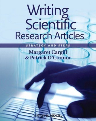 Writing Scientific Research Articles Strategy and Steps  2009 edition cover