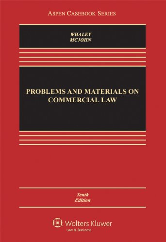 Problems and Materials on Commercial Law:   2012 edition cover