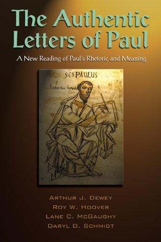 Authentic Letters of Paul   2010 edition cover