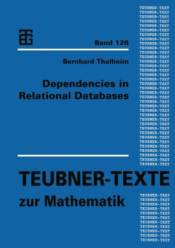 Dependencies in Relational Databases   1991 9783663120193 Front Cover