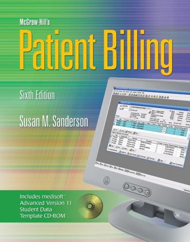 Patient Billing  6th 2008 9780073309194 Front Cover