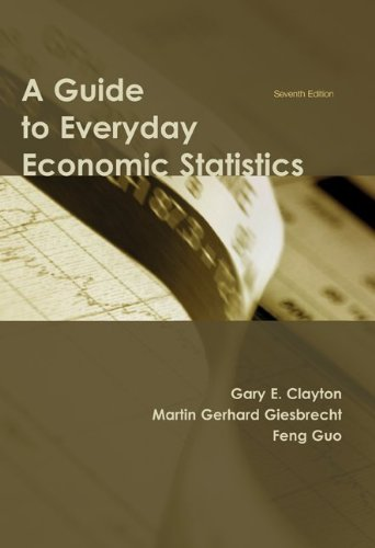 Guide to Everyday Economic Statistics  7th 2010 edition cover