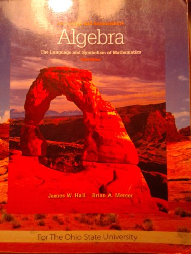 Beginning & Intermediate Algebra (Custom) 3rd edition cover