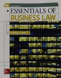 Essentials of Business Law:   2015 edition cover