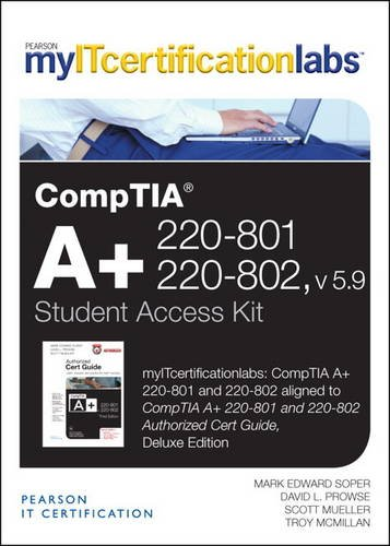 COMPTIA A+220-801+220-802..-ACCESS CARD N/A 9780133393194 Front Cover