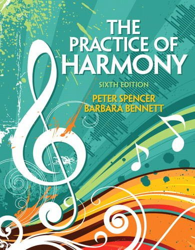 Practice of Harmony  6th 2012 (Revised) 9780205717194 Front Cover