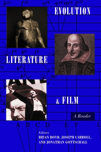 Evolution, Literature, and Film A Reader  2010 9780231150194 Front Cover