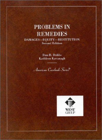 Problems in Remedies  2nd 1993 (Revised) edition cover