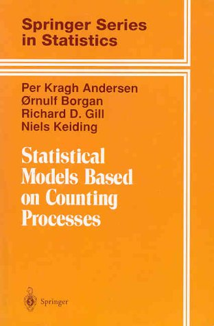 Statistical Models Based on Counting Processes   1993 edition cover