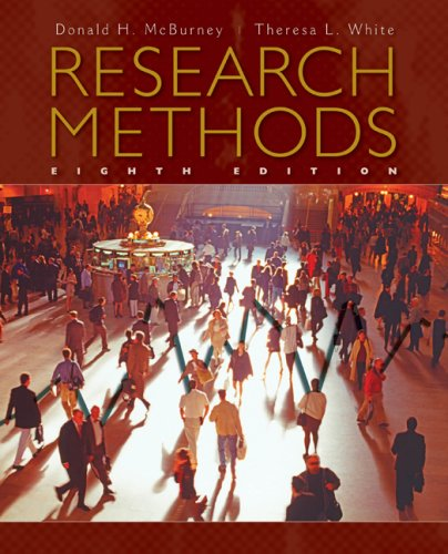 Research Methods  8th 2010 edition cover