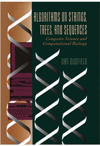 Algorithms on Strings, Trees and Sequences Computer Science and Computational Biology  1997 edition cover