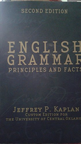 ENGLISH GRAMMAR >CUSTOM< 2nd 1995 9780536633194 Front Cover