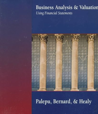 Business Analysis and Valuation Using Financial Statements   1996 edition cover