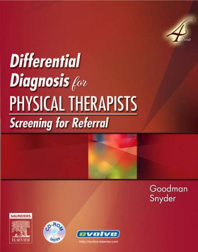 Differential Diagnosis for Physical Therapists Screening for Referral 4th 2006 (Revised) edition cover