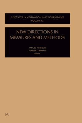 New Directions in Measures and Methods   2001 9780762308194 Front Cover