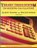 Ten-Key Touch System on Modern Calculators 2nd 2002 (Revised) edition cover