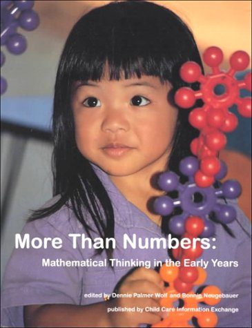 More Than Numbers Mathematical Thinking in the Early Years N/A 9780942702194 Front Cover