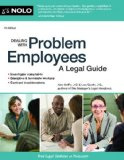 Dealing with Problem Employees A Legal Guide 7th edition cover