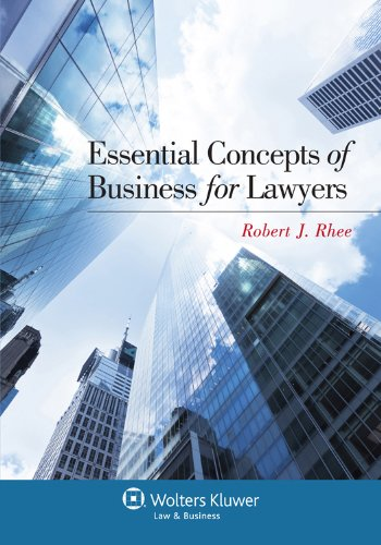 Essential Concepts of Business for Lawyers   2012 edition cover
