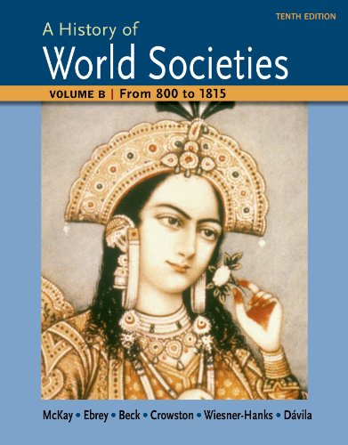 A History of World Societies: From 800 to 1815  2014 edition cover