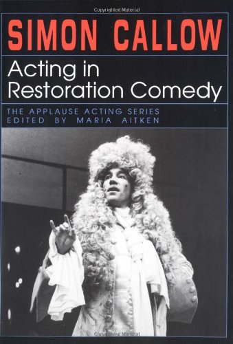 Acting in Restoration Comedy  N/A edition cover