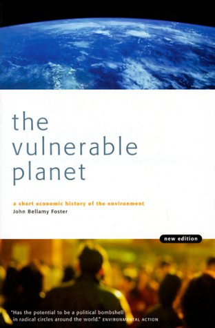 Vulnerable Planet A Short Economic History of the Environment 2nd 1999 (Revised) edition cover