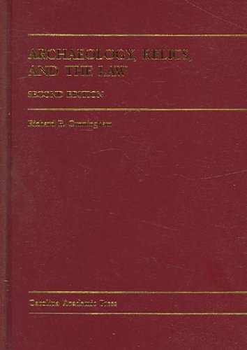 Archaeology, Relics and the Law  2nd 2005 edition cover