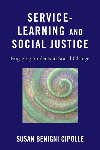 Service-Learning and Social Justice Engaging Students in Social Change  2010 edition cover